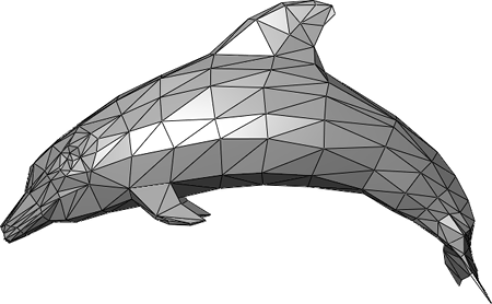 Dolphin_triangle_mesh